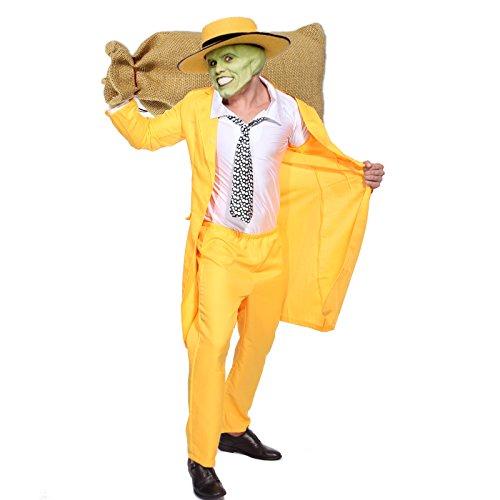 Surepromise Ensemble Tenue de Deguisement Costume The Mask