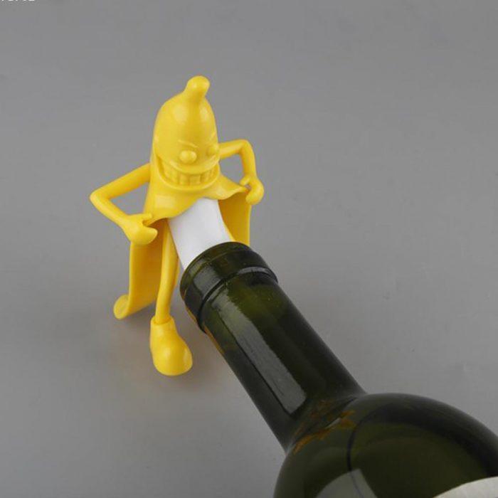 Bouchon bouteille de vin débile
