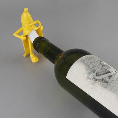 Bouchon humoristique pour bouteille de vin