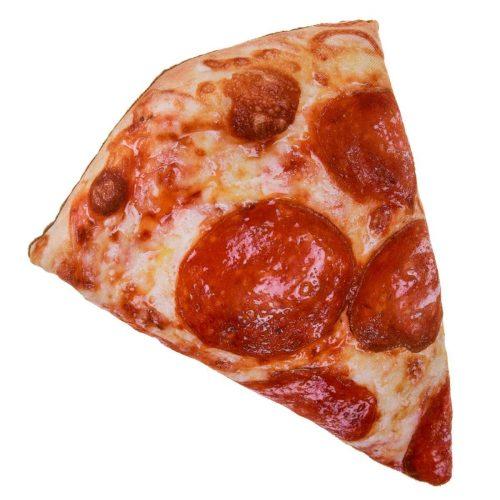 coussin forme de part de pizza