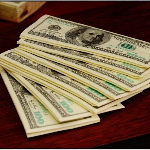 Pack de mouchoirs dollars