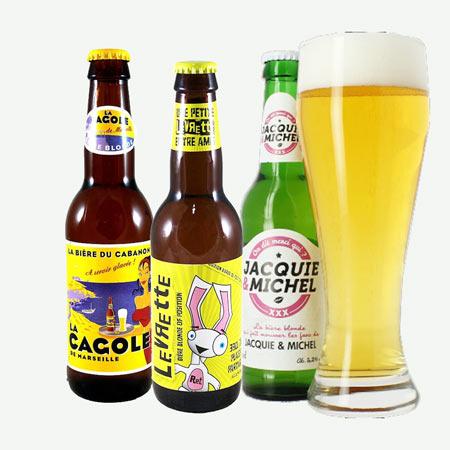Coffret de bières humoristiques