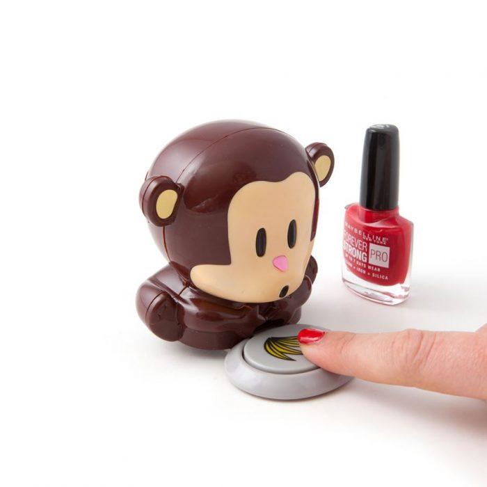 singe pour secher les ongles kawaii