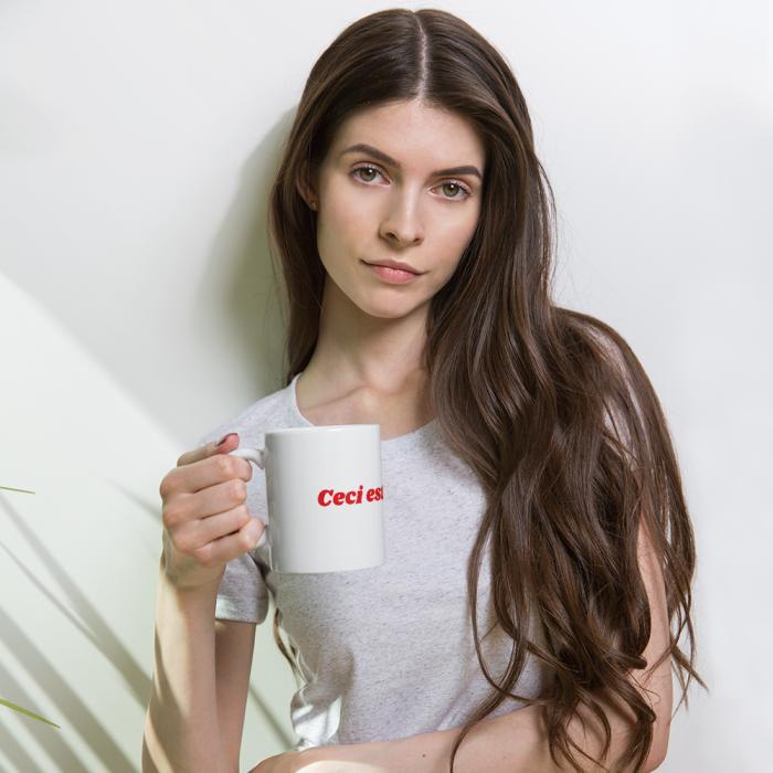Un mug qui est un objet très drole