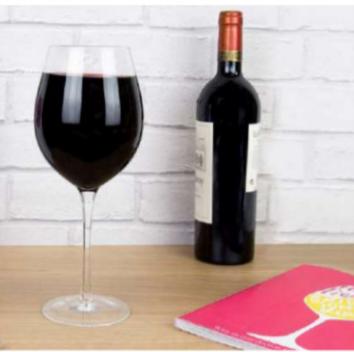 Verre de vin gigantesque cadeau original