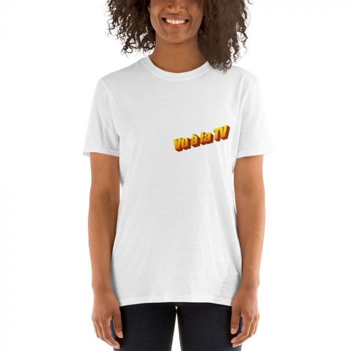 Tshirt blanc porté par un femme