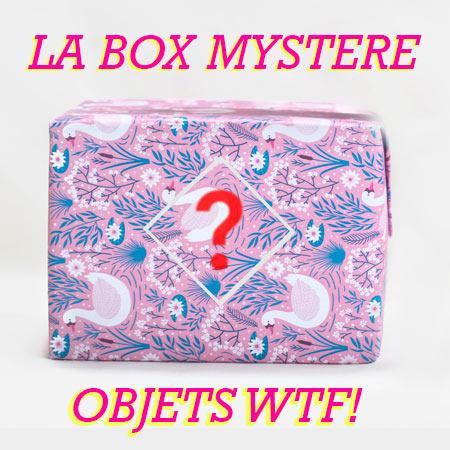 boite de cadeaux mystere
